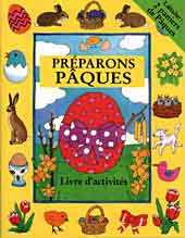 Preparons Paques - Easter activity book