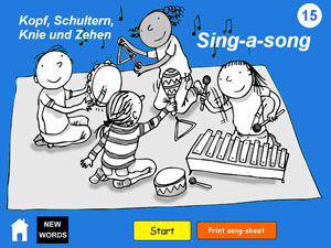 Primary German songs