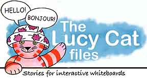 the Lucy Cat files - for interactive whiteboards