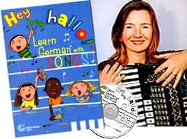 Learn German with Songs - Martina Schwarz