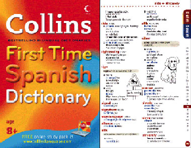 Early Start recommends Collins First Time Spanish Dictionary