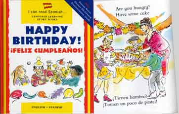 Happy Birthday! - Spanish-English bilingual book