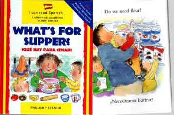 What's for supper? Spanish-English bilingual book
