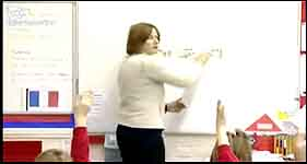 Early Start Primary French: whole class teaching